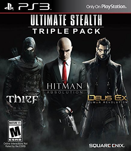 Ps3 Ultimate Stealth Triple Pack Hitman Absolution Deus Ex Thief
