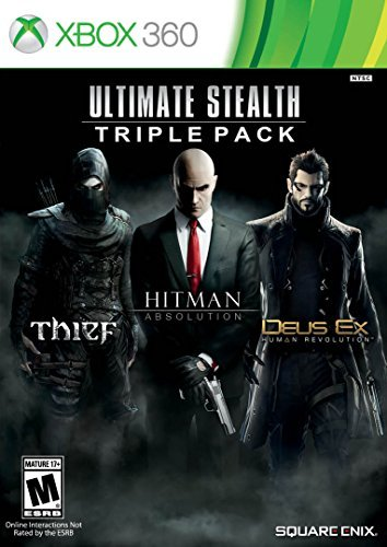 Xbox 360 Ultimate Stealth Triple Pack Hitman Absolution Deus Ex Thief