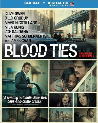 Blood Ties Owen Crudup Cotillard Kunis Blu Ray Nr