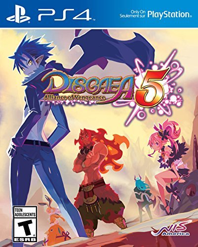 Playstation 4 Disgaea 5 Alliance Of Vengeance