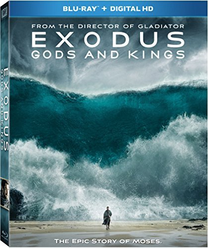 Exodus Gods & Kings Bale Edgerton Kingsley Turturro Blu Ray Dc Pg13