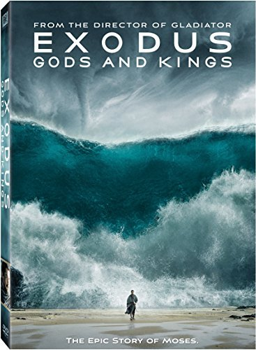 Exodus Gods & Kings Bale Edgerton Kingsley Turturro DVD Pg13