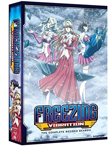 Freezing Vibration Complete Series DVD Blu Ray Nr
