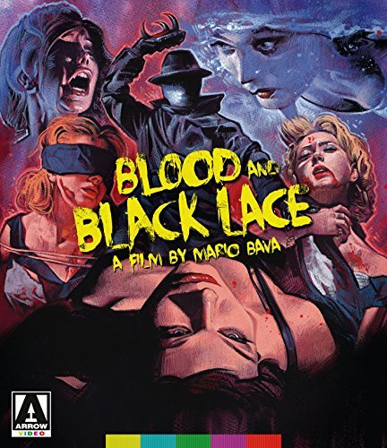 Blood & Black Lace Mitchell Bartok Arden Blu Ray DVD Standard Edition