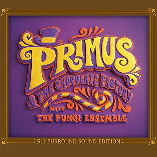 Primus Primus & The Chocolate Factory With The Fungi Ensemble 5.1 Dolby Surround CD & DVD