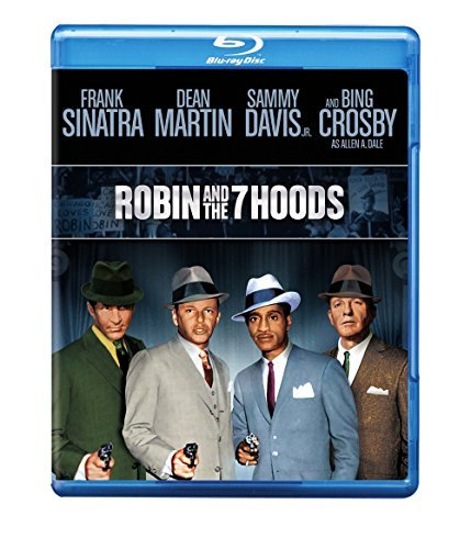 Robin & The 7 Hoods Sinatra Martin Davis Jr. Crosby Blu Ray Nr