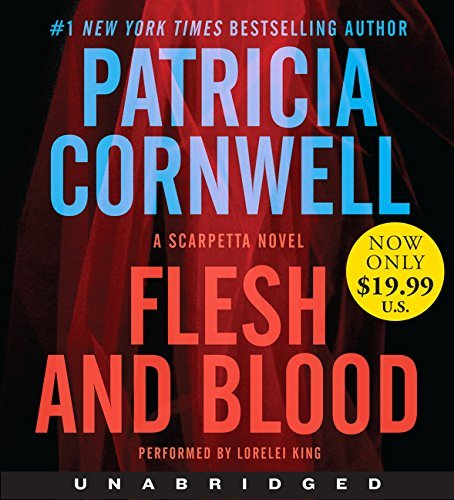 Patricia Cornwell Flesh And Blood Low Price CD A Scarpetta Novel