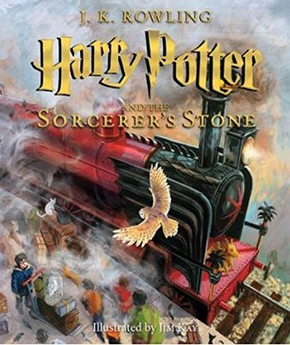 J. K. Rowling Harry Potter And The Sorcerer's Stone The Illustrated Edition (harry Potter Book 1) T
