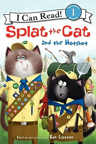 Rob Scotton Splat The Cat And The Hotshot