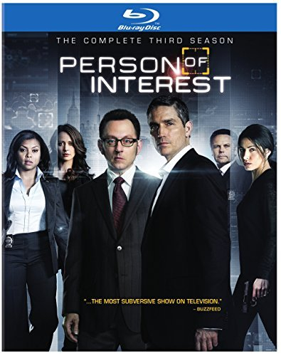 Person Of Interest Season 3 Blu Ray