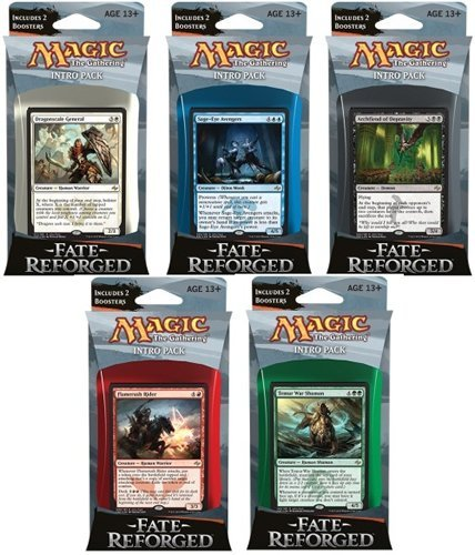 Magic The Gathering Cards Fate Reforged Intro Pack
