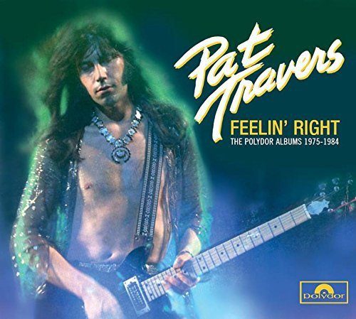 Pat Travers Feelin' Right Import Can 4 CD