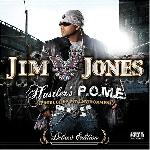 Jim Jones Hustler's P.O.M.E. Explicit Version 2 CD Set