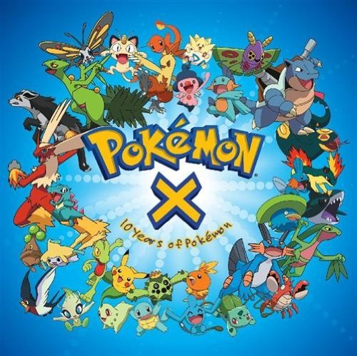 Pokemon Pokemon X Ten Years Of Pokemon