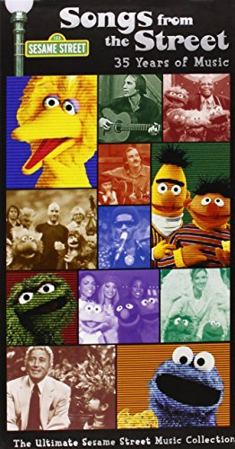 Sesame Street Songs From The Street 35 Years 3 CD