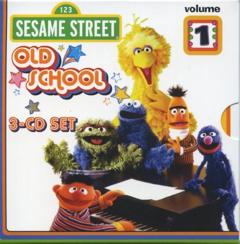 Sesame Street Vol. 1 Old School 3 CD