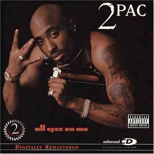 2pac All Eyez On Me Explicit Version Remastered 2 CD Set