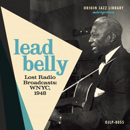 Leadbelly Lost Radio Broadcasts Wnyc 1948 Blue Vinyl Lp