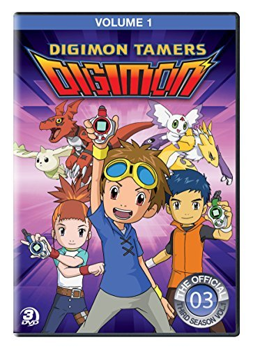 Digimon Tamers Volume 1 DVD