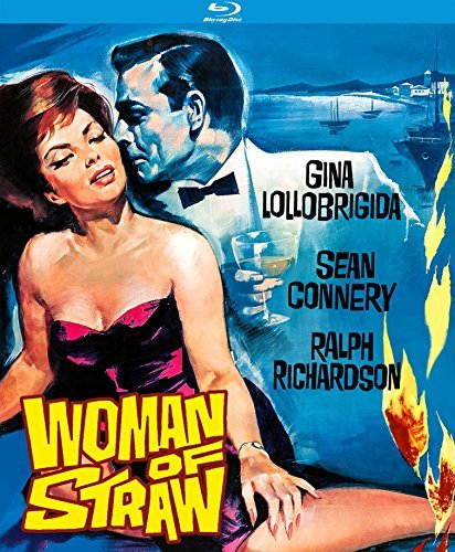Woman Of Straw (1964) Connery Lollobrigida Richardson Blu Ray Nr