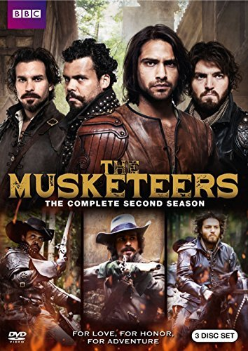 Musketeers Season 2 DVD