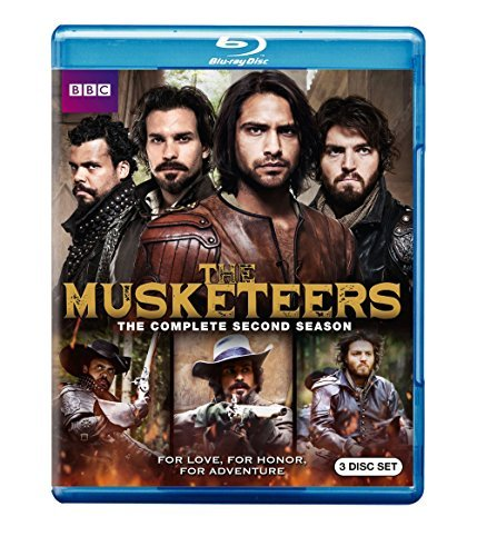 Musketeers Season 2 Blu Ray