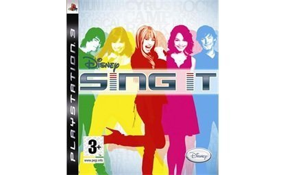Ps3 Disney Sing It (game Only)