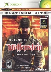 Xbox Wolfenstein Return To Castle Tides Of War