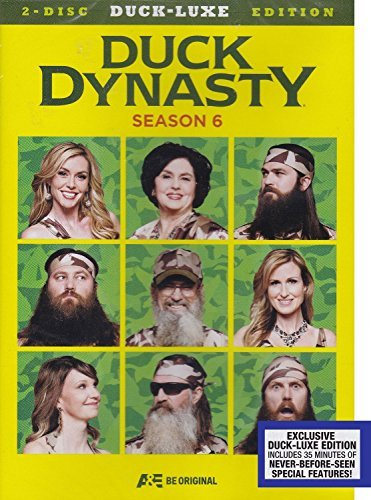 Duck Dynasty Season 6 2 Disc Duck Luxe Edition