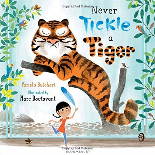 Pamela Butchart Never Tickle A Tiger