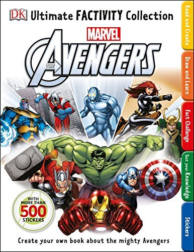 Dk Publishing Ultimate Factivity Collection Marvel The Avengers