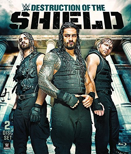 Wwe Destruction Of The Shield Blu Ray