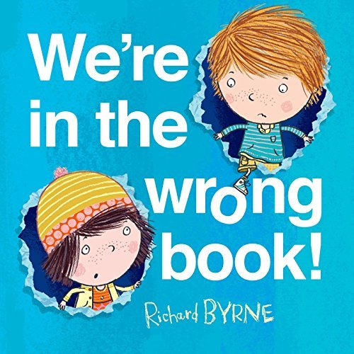 Richard Byrne We're In The Wrong Book!