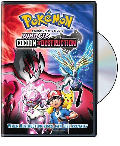 Pokemon The Movie Diancie And The Cocoon Of Destruction DVD