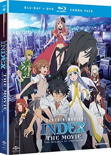 Certain Magical Index Miracle Certain Magical Index Miracle Blu Ray DVD