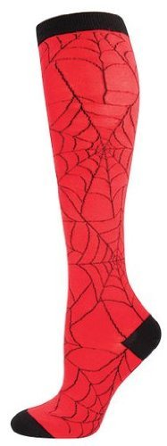 Socks Kneehigh Spiderweb