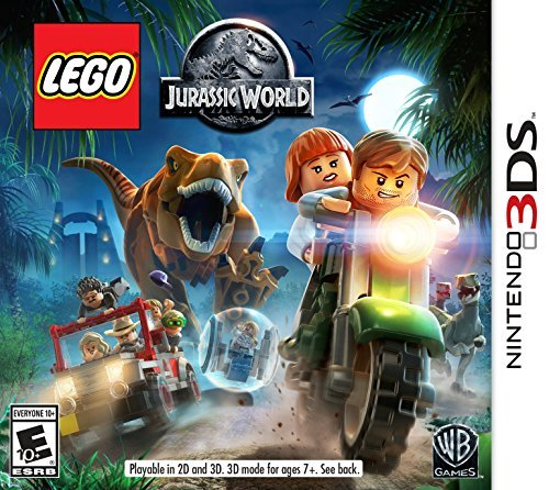 Nintendo 3ds Lego Jurassic World