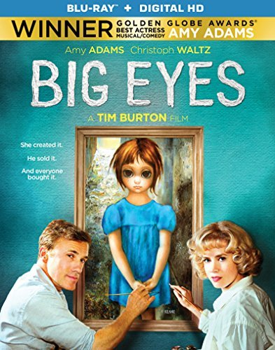 Big Eyes Adams Waltz Ritter Blu Ray Dc Pg13
