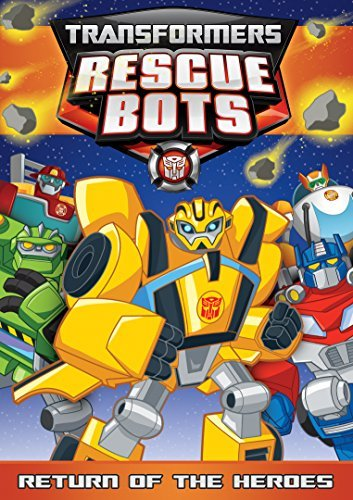 Transformers Rescue Bots Return Of The Heroes DVD