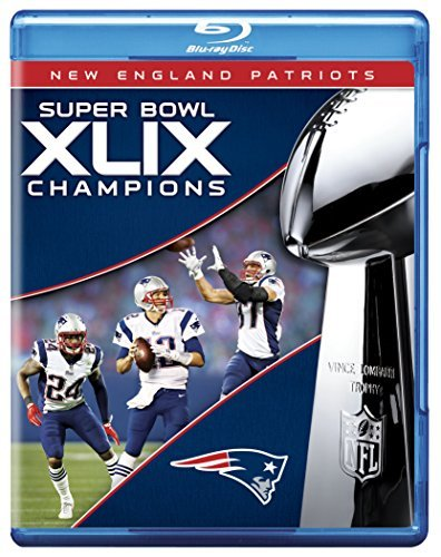 New England Patriots Super Bowl Xlix Champions Blu Ray