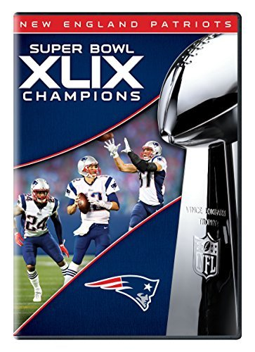 New England Patriots Super Bowl Xlix Champions DVD
