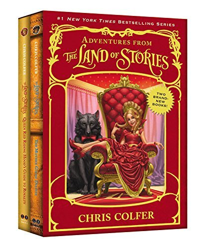 Chris Colfer Adventures From The Land Of Stories Set The Mother Goose Diaries And Queen Red Riding Hoo