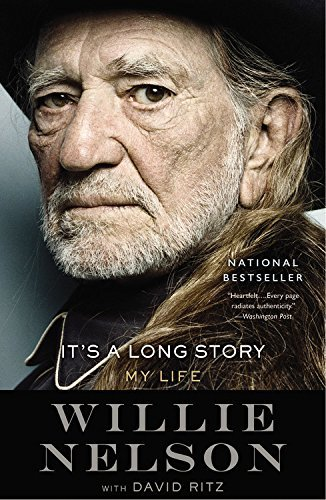 Willie Nelson It's A Long Story My Life Large Print