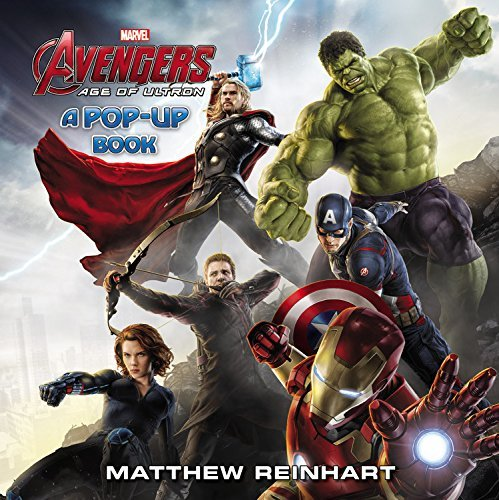Matthew Reinhart Marvel's Avengers Age Of Ultron A Pop Up Book
