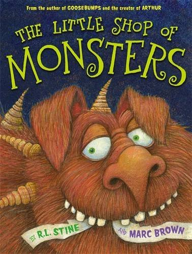 R. L. Stine The Little Shop Of Monsters
