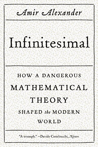 Amir Alexander Infinitesimal How A Dangerous Mathematical Theory Shaped The Mo