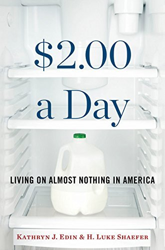 Kathryn J. Edin $2.00 A Day Living On Almost Nothing In America