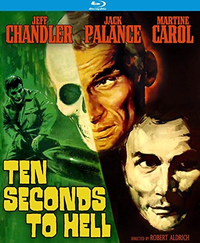 Ten Seconds To Hell Palance Chandler Carol Blu Ray Nr