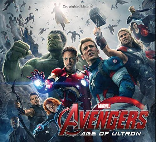 Jacob Johnston Marvel's Avengers Age Of Ultron The Art Of The Movie Slipcase