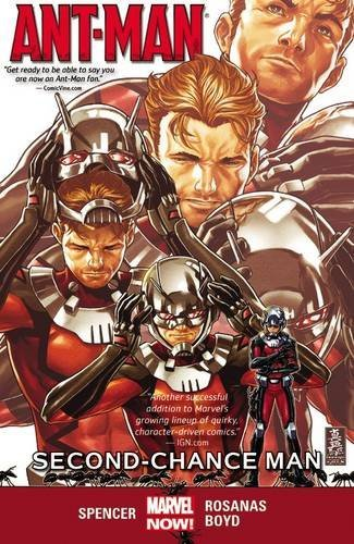 Nick Spencer Ant Man Volume 1 Second Chance Man